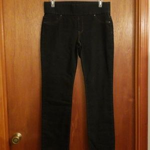 Liverpool Jillian pull-on straight stretchy jeans